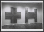 Installation view of the Frank Stella exhibition