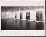 Installation view of the Jasper Johns exhibition at the Leo Castelli Gallery