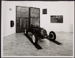 Rajo Jack Special race car at Leo Castelli gallery