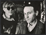 Andy Warhol and Jonas Mekas