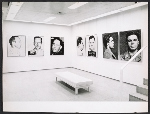 Andy Warhol exhibition installation at the Ileana Sonnabend Gallery