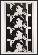 Reproduction of filmstrip from Andy Warhols Eat