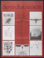 [Architecture: Seven Architects exhibition poster 1]