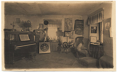 Interior of a room at the St. Paul School of Fine Arts