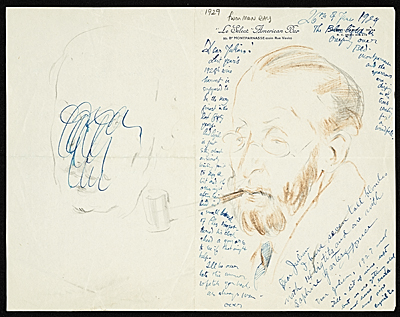 [Man Ray to Julian E. (Julian Edwin) Levi]