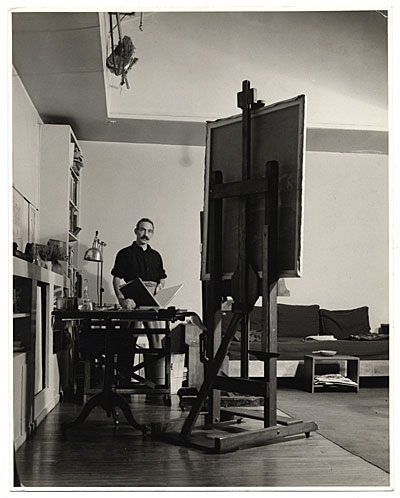 [Julian Levi in his studio]