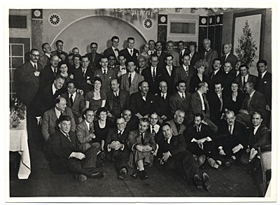 Art Students League group portrait, 1950 January