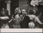 Alexander Liberman dancing with Francine du Plessix Gray