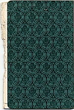 [Dorothy Liebes' passport cover back ]