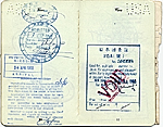 [Dorothy Liebes' passport page 6]