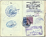[Dorothy Liebes' passport page 7]
