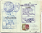 [Dorothy Liebes' passport page 8]