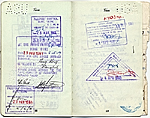 [Dorothy Liebes' passport page 10]