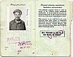 [Dorothy Liebes' passport page 3]
