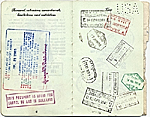 [Dorothy Liebes' passport page 4]