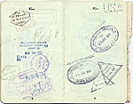 [Dorothy Liebes' passport page 5]