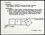 Instructions and diagram for a Richard Serra sculpture installation