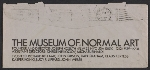 [Sheet of Museum of Normal Art stationery sent from Joseph Kosuth to Lucy Lippard and John Chandler envelope verso 2]