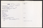 [Praeger Publishers author's questionnaire filled out by Lucy Lippard 1]