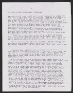 Statement by David Wojnarowicz