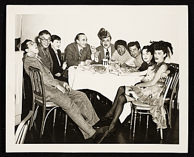 [Seymour Lipton, Yasuo Kuniyoshi and others at the Artists Equity Ball]