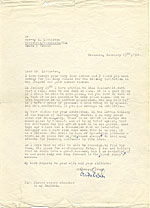 Erwin Eisch letter to Harvey K. Littleton