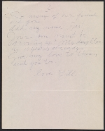 [Willem de Kooning letter to Michael Loew 2]