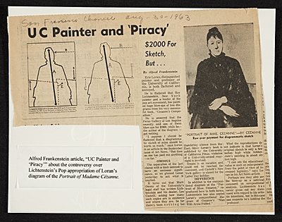 ['UC Painter and 'Piracy' from the San Francisco Chronicle]