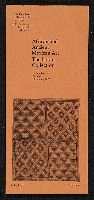 [African and Ancient Mexican Art: The Loran Collection]