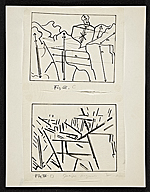 Diagrams of Cézanne's painting