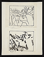 [Diagrams of Cézanne's painting 1]