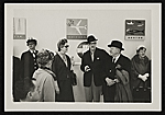 Hans Hofmann and Erle Loran at an airport