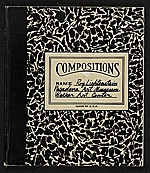 Pasadena Art Museum catalog for Compositions: Roy Lichtenstein