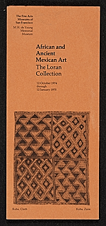 African and Ancient Mexican Art: The Loran Collection