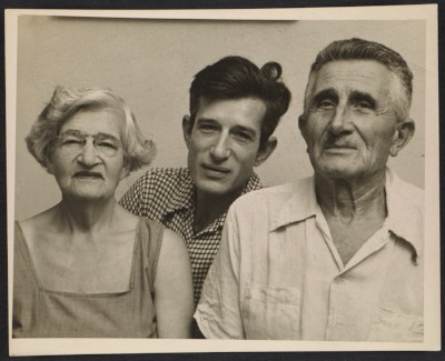 [Morris Louis with his mother and father]