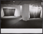 An installation view of Morris Louis Veils show at the Andre Emmerich Gallery