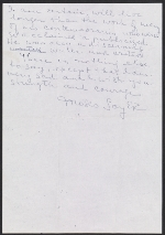 [Moses Soyer letter to Adele Lozowick 1]