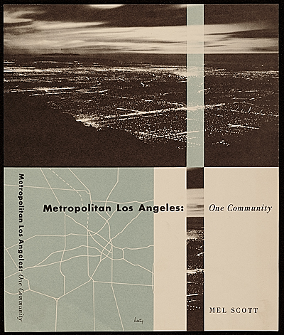 [Metropolitan Los Angeles: One Community book cover design]