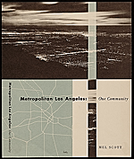 Metropolitan Los Angeles: One Community book cover design
