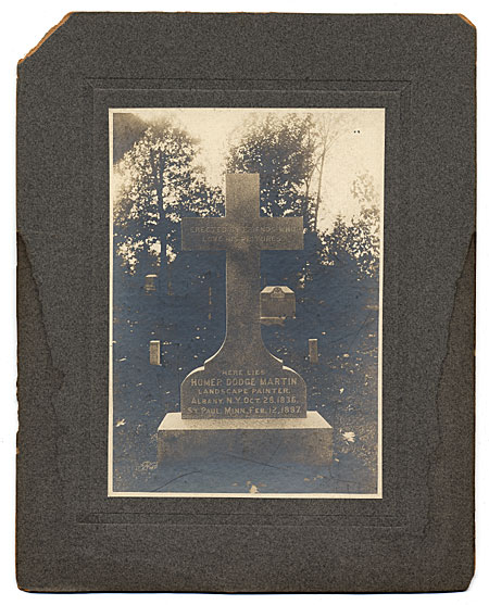 [Tombstone of Homer Dodge Martin]