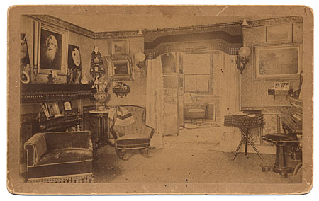 Parlor in the home of Samuel Finley Breese Morse