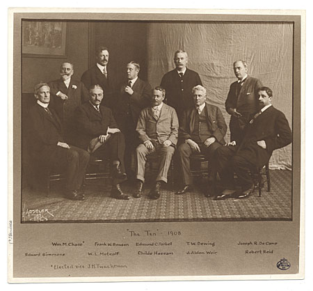 39 the ten 39 from the macbeth gallery records image and for Tarbell family foundation