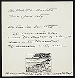 Andrew Wyeth letter to Robert Macbeth