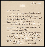 [N. C. (Newell Convers) Wyeth, Chadsford, Pa. letter to Robert Macbeth ]