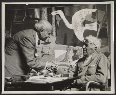 Peppino Mangravite and Georges Braque
