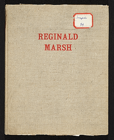 [Reginald Marsh scrapbook #4]