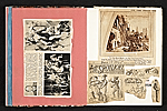 [Reginald Marsh scrapbook #4 pages 2]