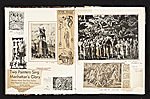 [Reginald Marsh scrapbook #4 pages 10]