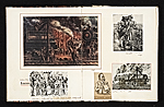 [Reginald Marsh scrapbook #4 pages 12]