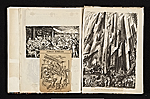 [Reginald Marsh scrapbook #4 pages 19]